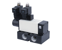 5 By 2 WAY POPPET TYPE DOUBLE SOLENOID VALVE